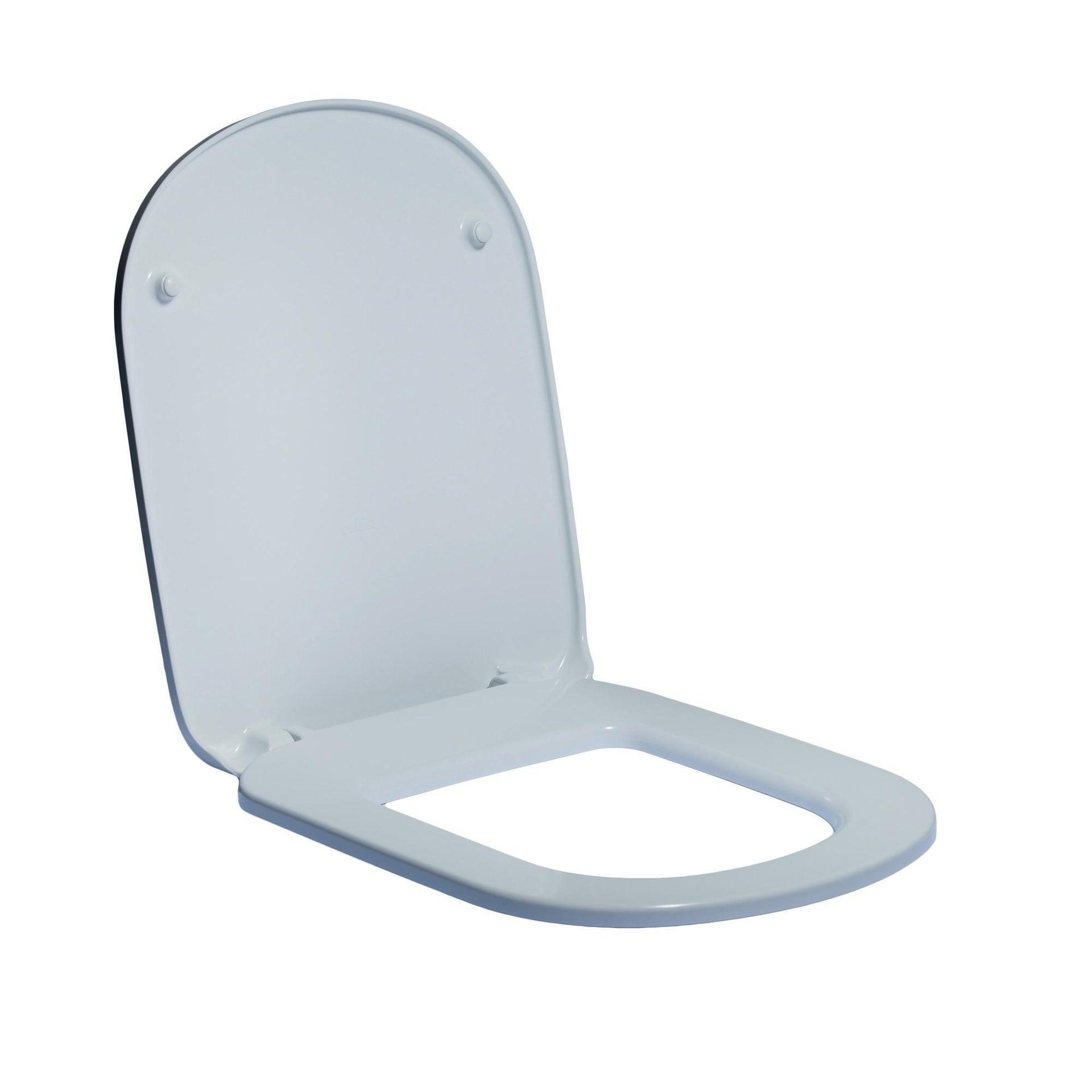 Copriwater ovale Originale per serie sanitari Gemma 2 IDEAL STANDARD termoindurente bianco - 4
