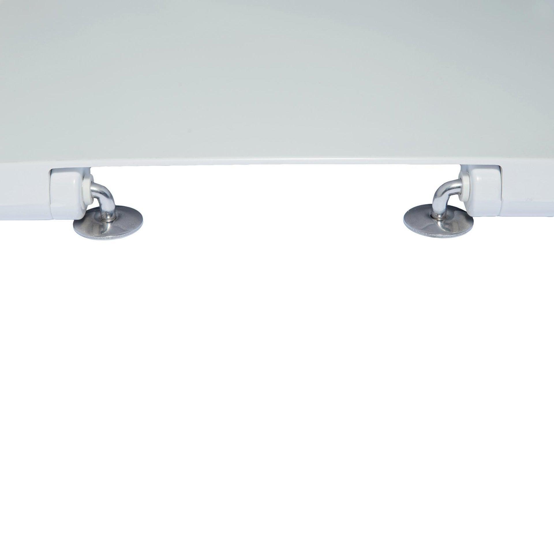 Copriwater ovale Originale per serie sanitari Gemma 2 IDEAL STANDARD termoindurente bianco - 2