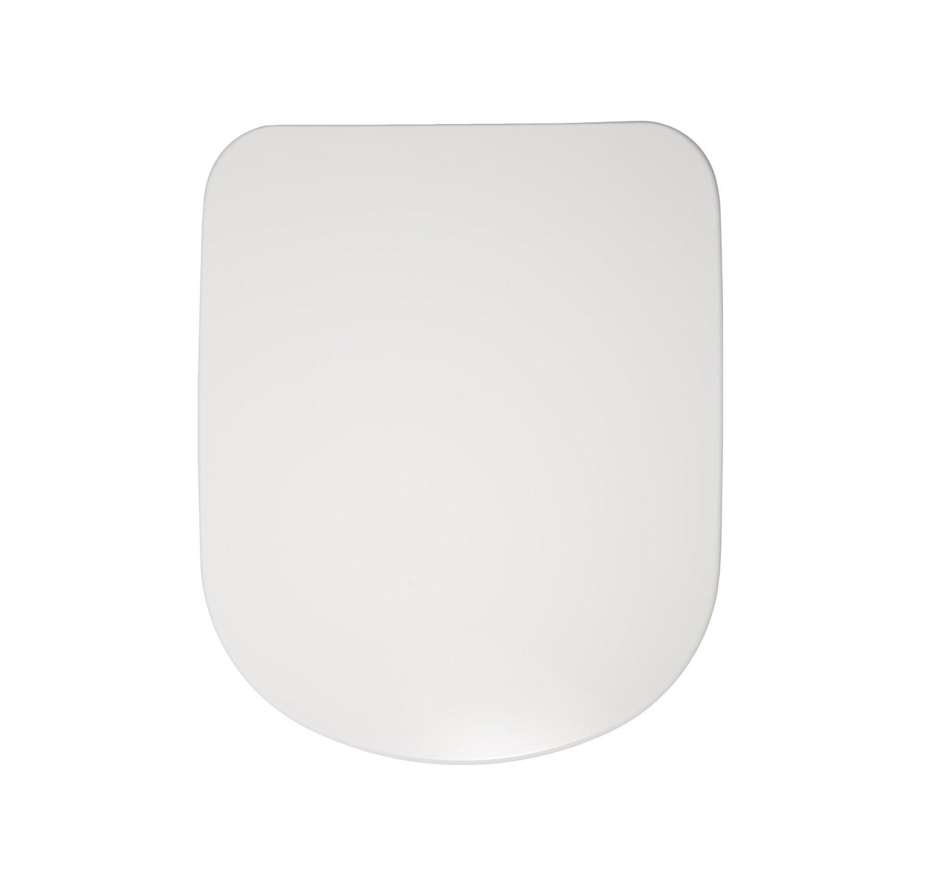 Copriwater ovale Originale per serie sanitari Gemma 2 IDEAL STANDARD termoindurente bianco - 7