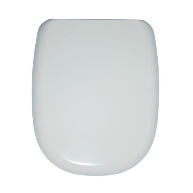 Copriwater rettangolare Originale per serie sanitari Tesi IDEAL STANDARD termoindurente bianco - 1
