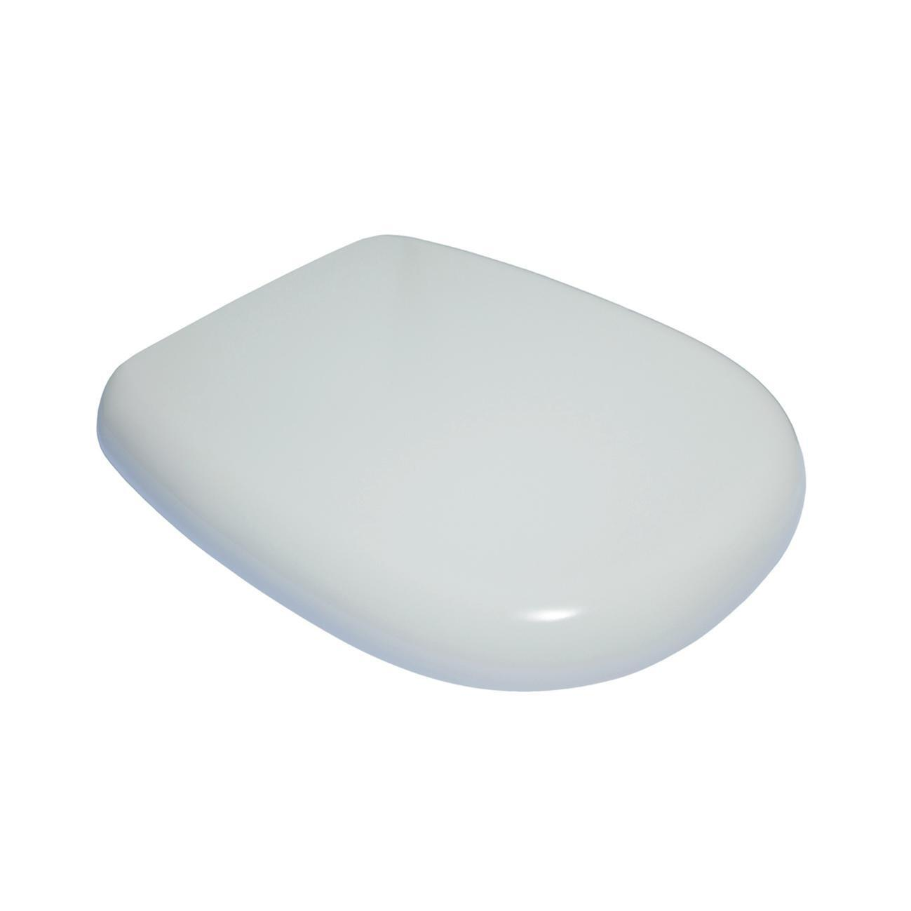 Copriwater rettangolare Originale per serie sanitari Tesi IDEAL STANDARD termoindurente bianco - 5