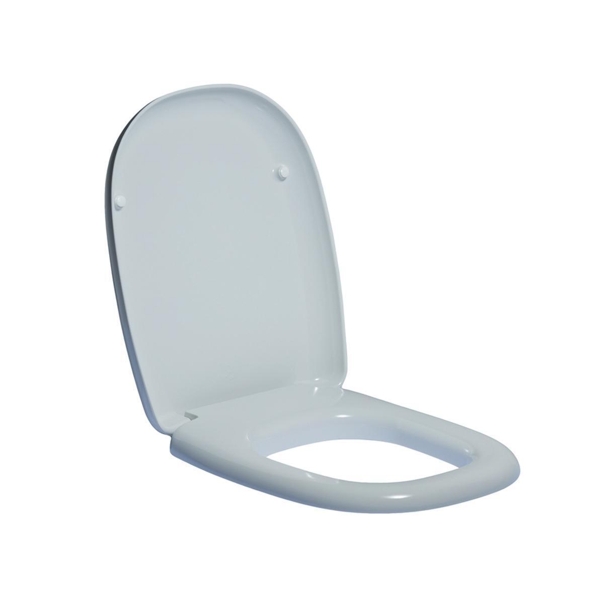 Copriwater rettangolare Originale per serie sanitari Tesi IDEAL STANDARD termoindurente bianco - 6