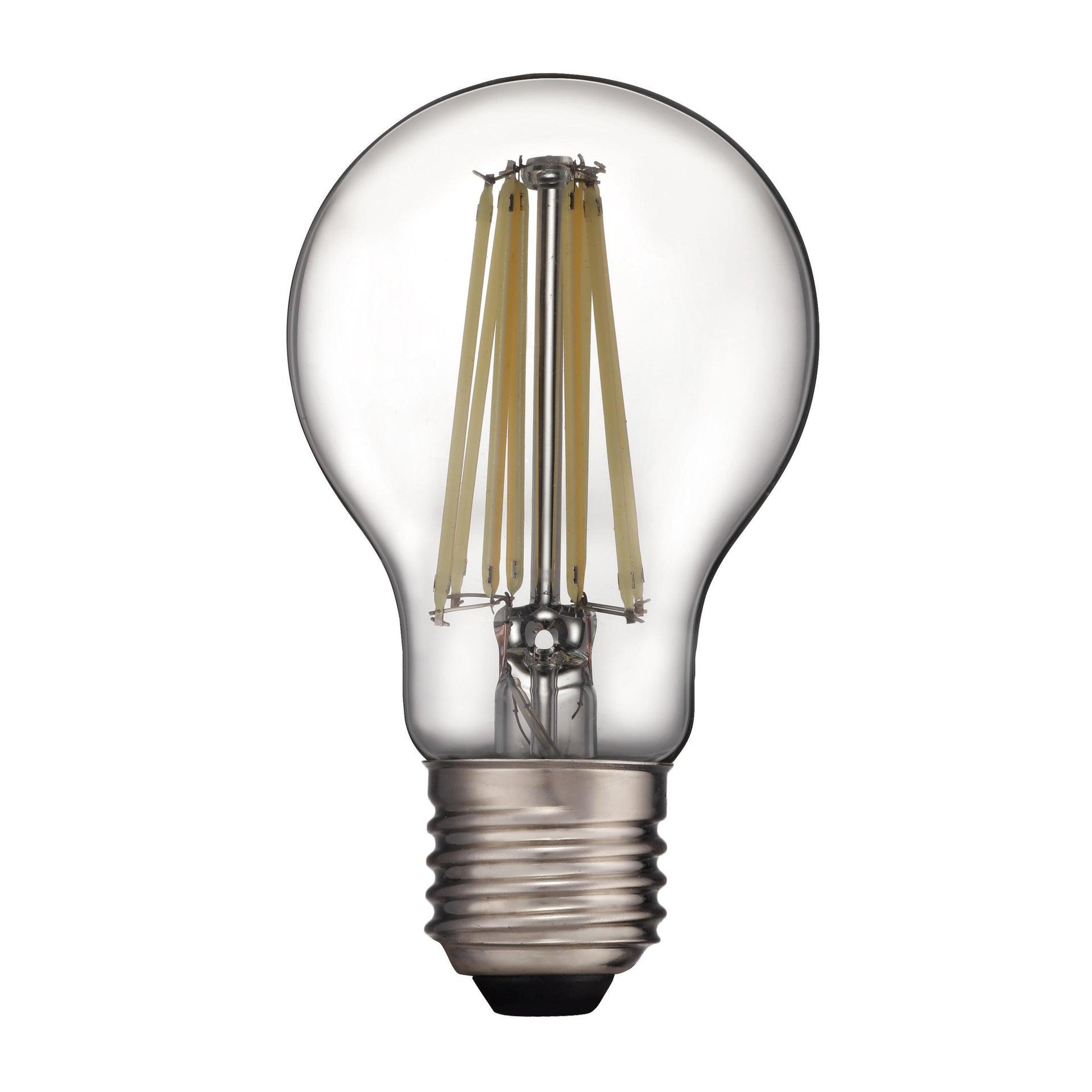 Lampadina LED filamento, E27, Goccia, Trasparente, Luce naturale, 11W=1521LM (equiv 100 W), 360° , LEXMAN - 9