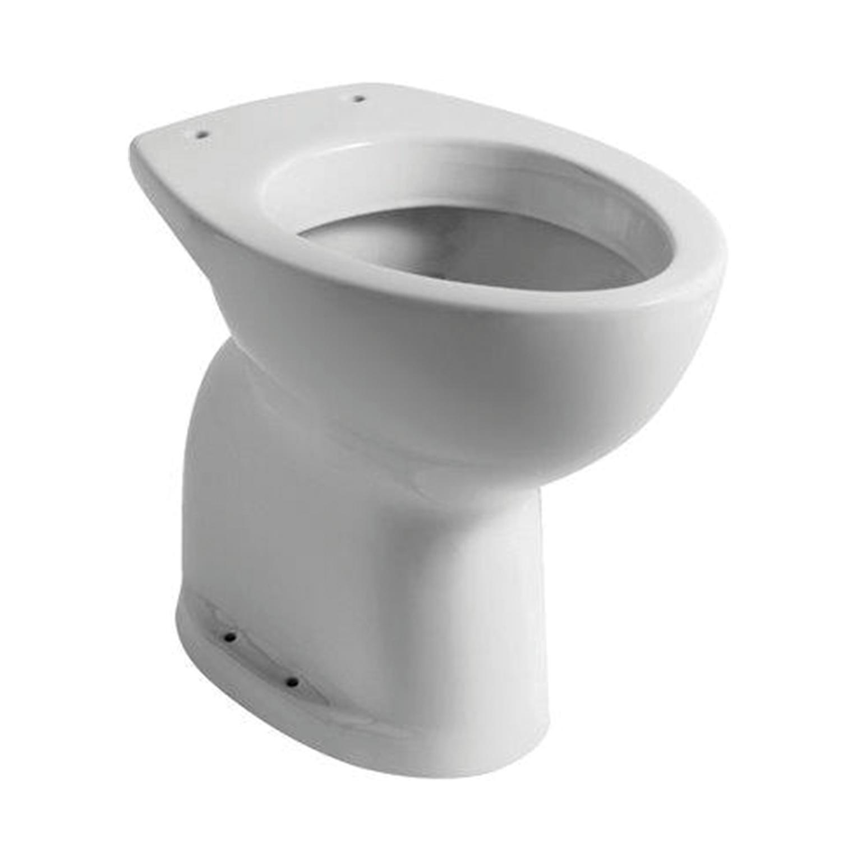 Vaso wc a pavimento distanziato comoda