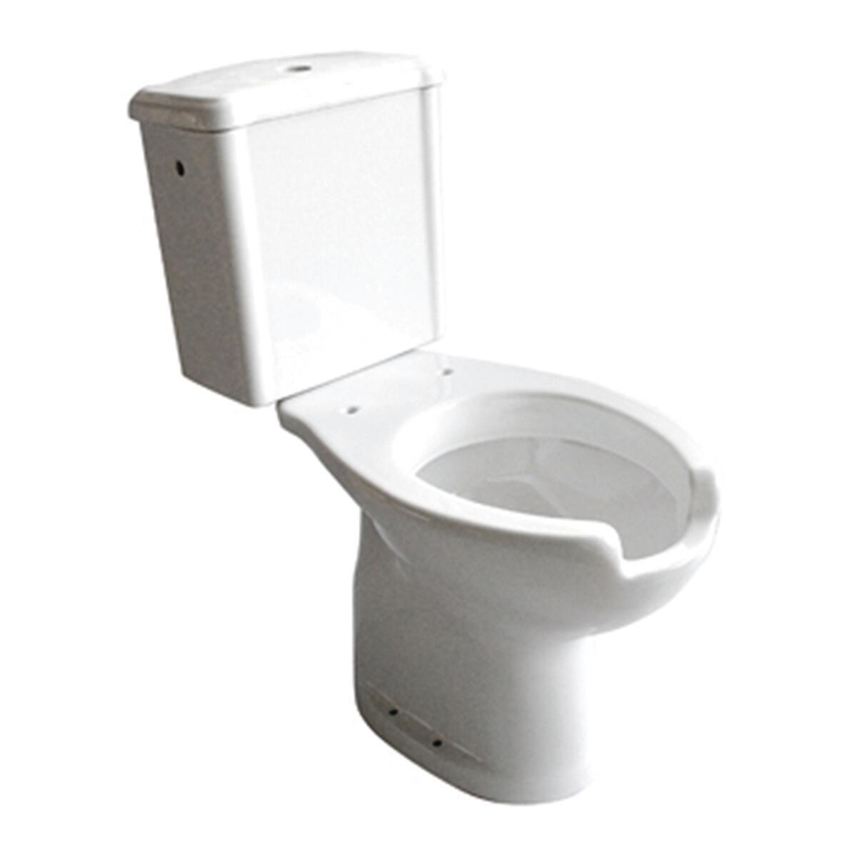 Vaso WC monoblocco Per disabili  - scarico pavimento