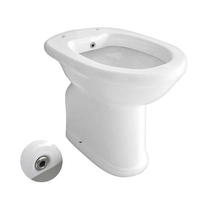 Vaso wc a pavimento per anziani - 1