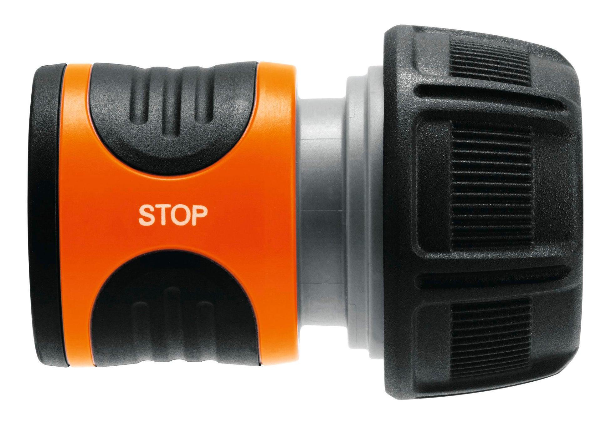 Connettore rapido femmina GARDENA Aquastop 19 mm - 1