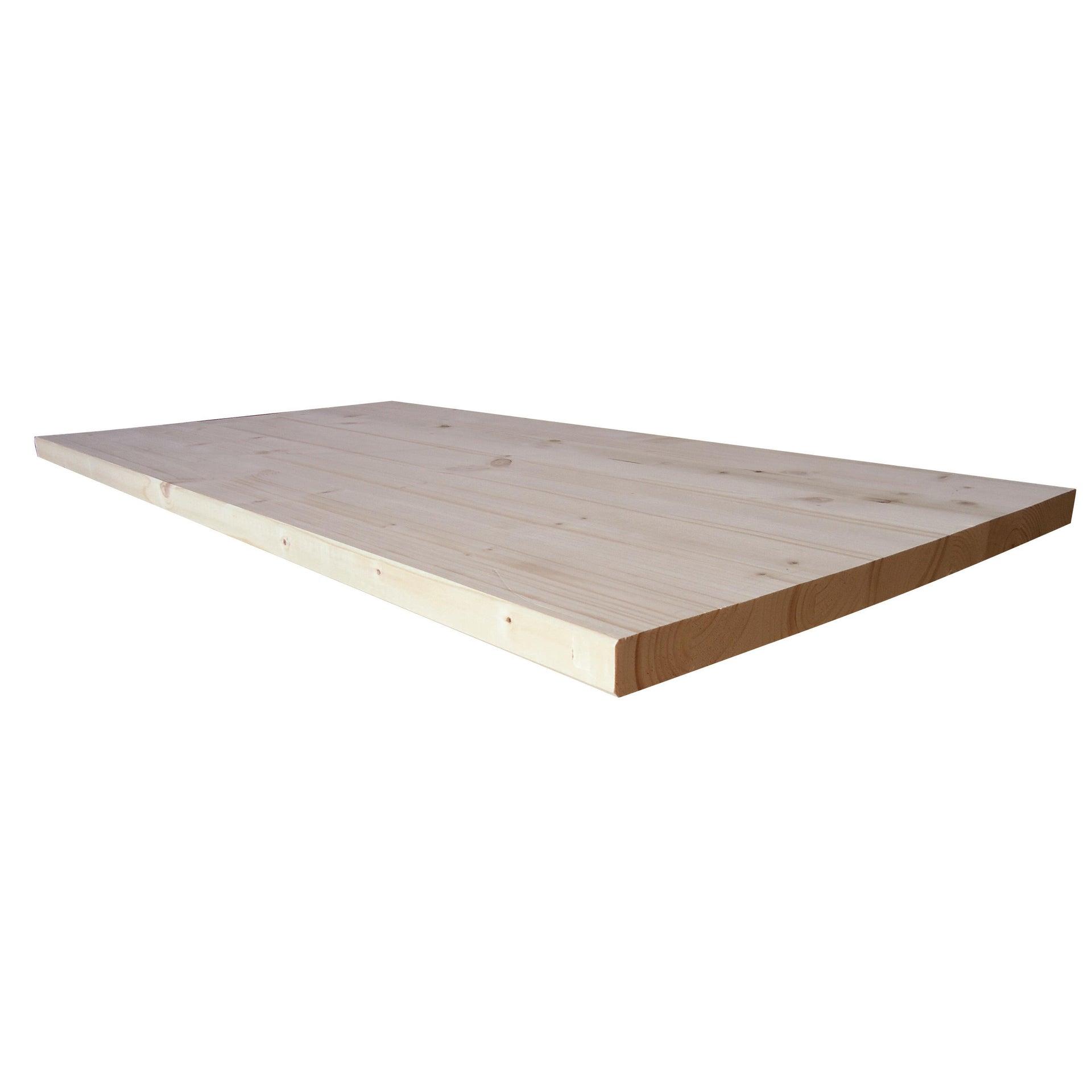 Tavola Compensato di legno abete 1° scelta L 150 x H 50 cm Sp 27 mm - 1