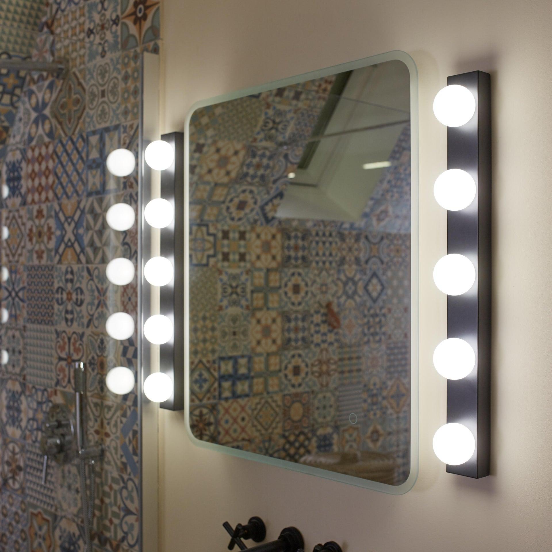 Applique moderno Smila LED integrato nero, in metallo, 60x60 cm, 5 luci INSPIRE - 3