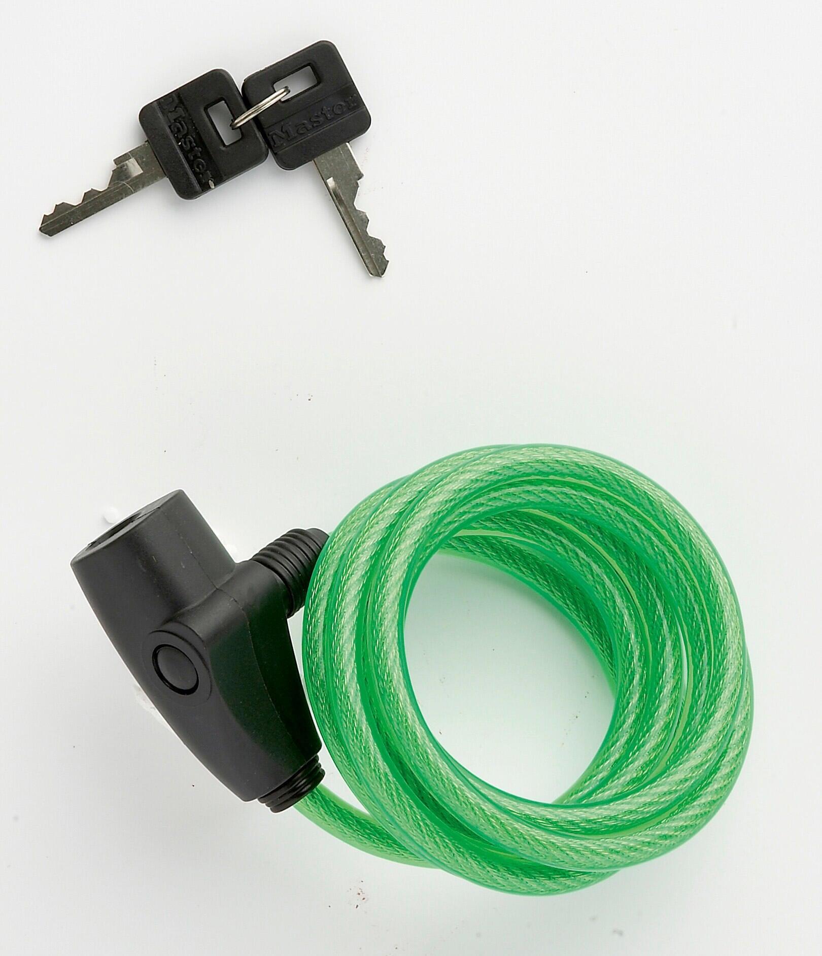 Cavo antifurto semirigido MASTER LOCK 8127EURDPRO L 1.8 m x Ø 8 mm - 3