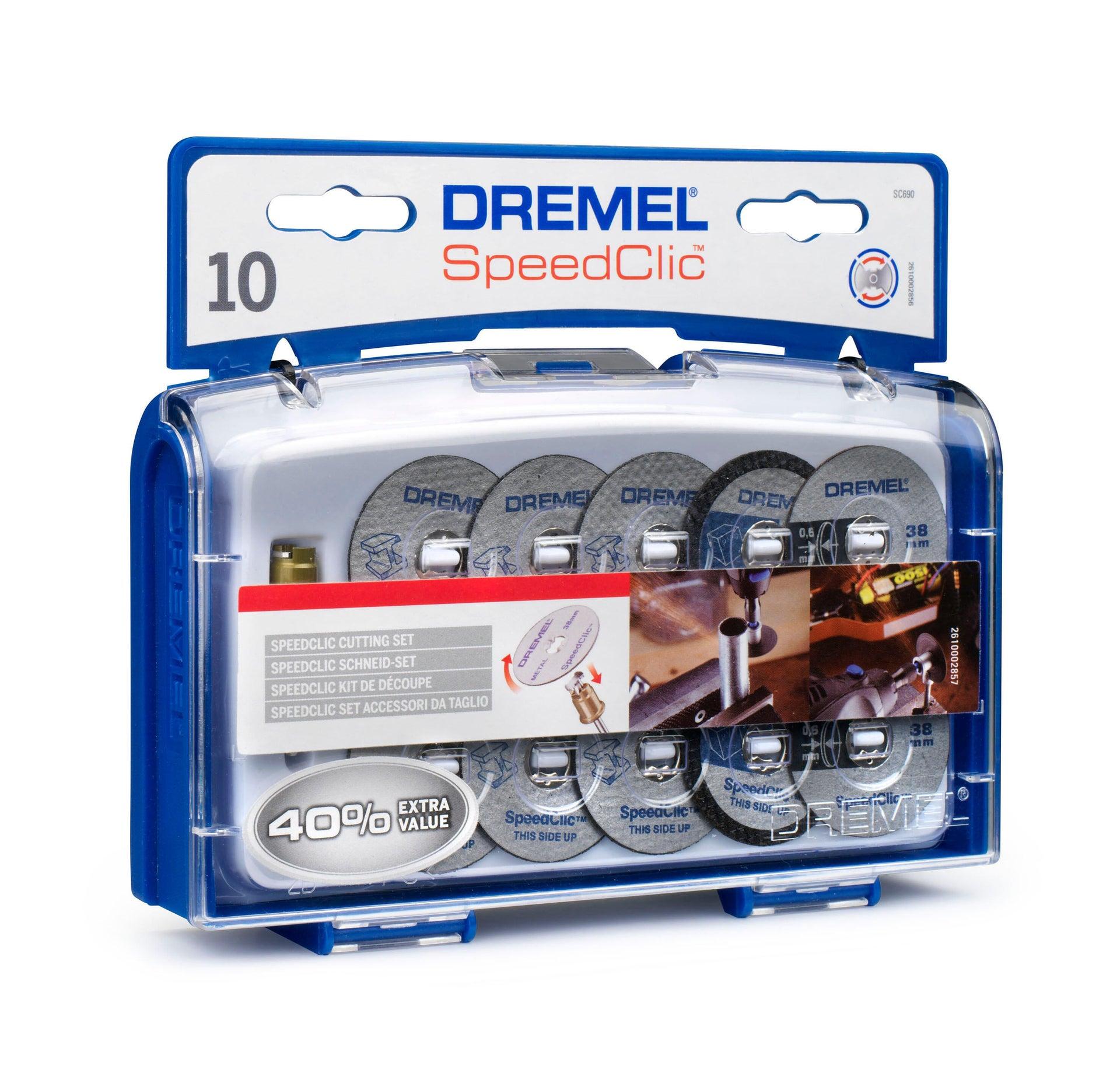 Set dischi DREMEL in metallo , 10 pezzi - 2