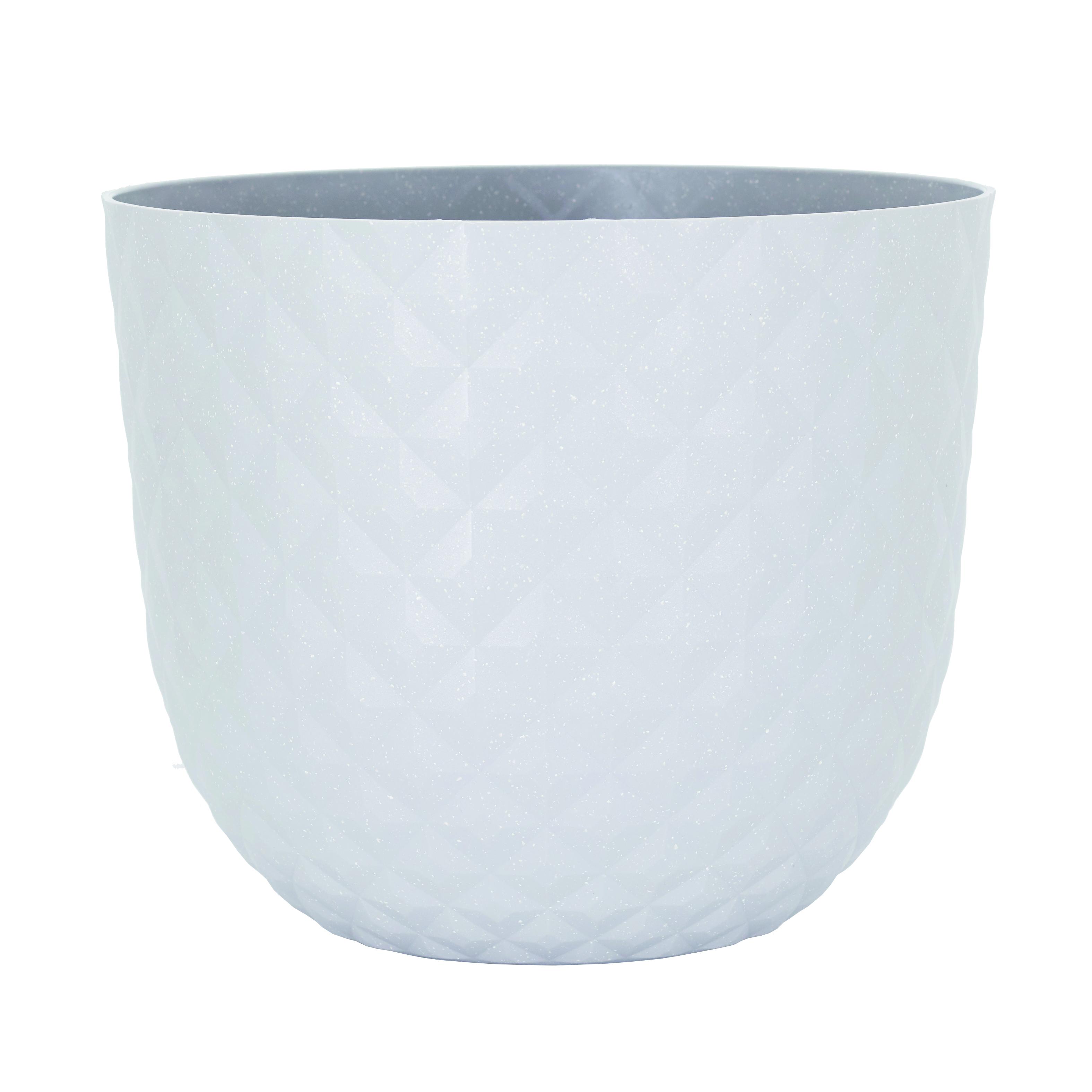 Vaso ARTEVASI in polipropilene colore bianco H 24.9 cm, Ø 30 cm