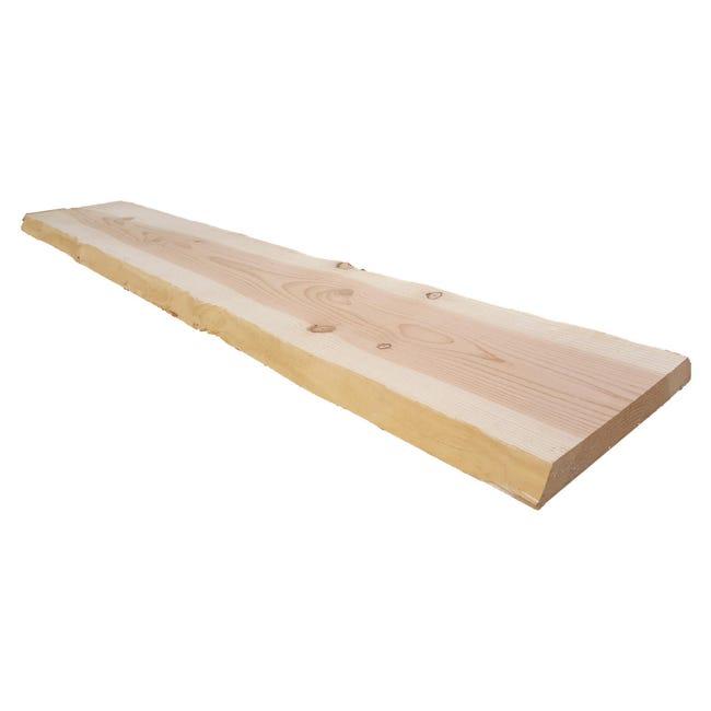 Tavola Legno massello pino douglas 200 x 30 cm Sp 30 mm - 1