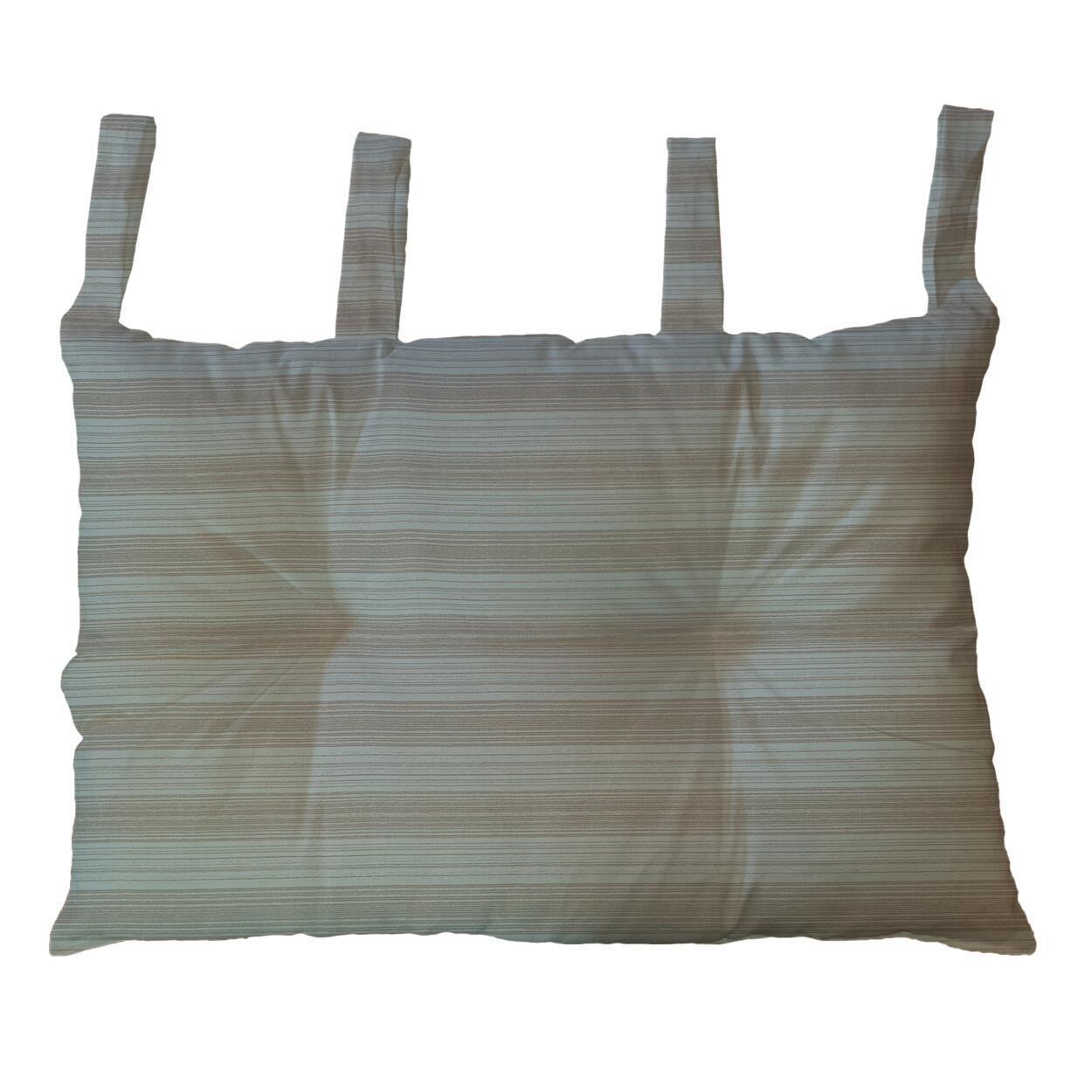 Cuscino testata letto RIGA ecru 45x70 cm - 3