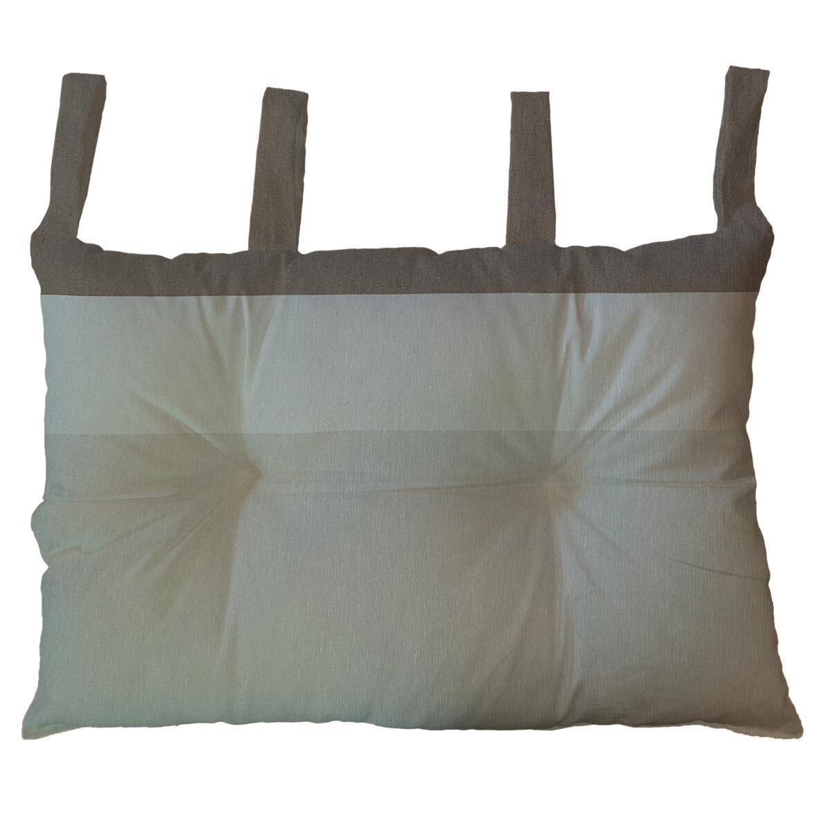 Cuscino testata letto RIGONE ecru 45x70 cm - 3