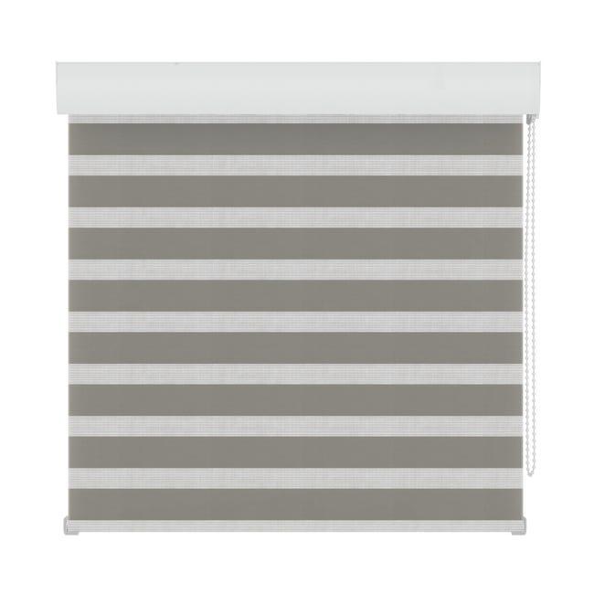 Tenda a rullo Orleans grigio 90 x 190 cm - 1