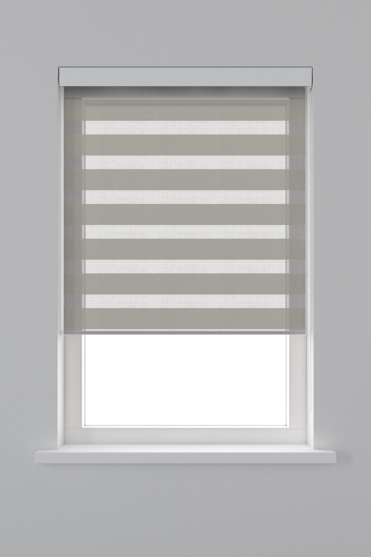 Tenda a rullo Orleans grigio 90 x 190 cm - 4