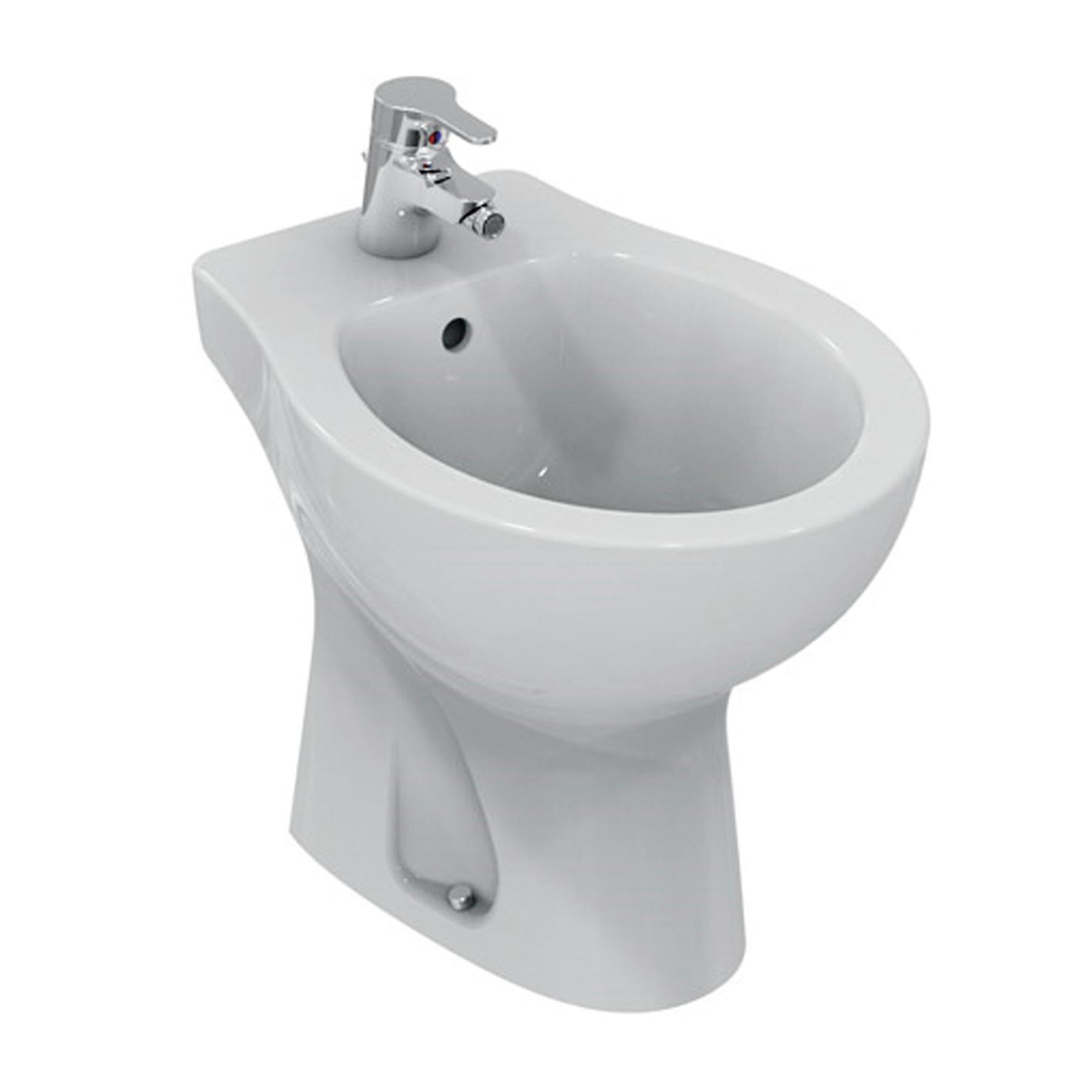 Coppia sanitari pavimento distanziato Miky New IDEAL STANDARD - 2