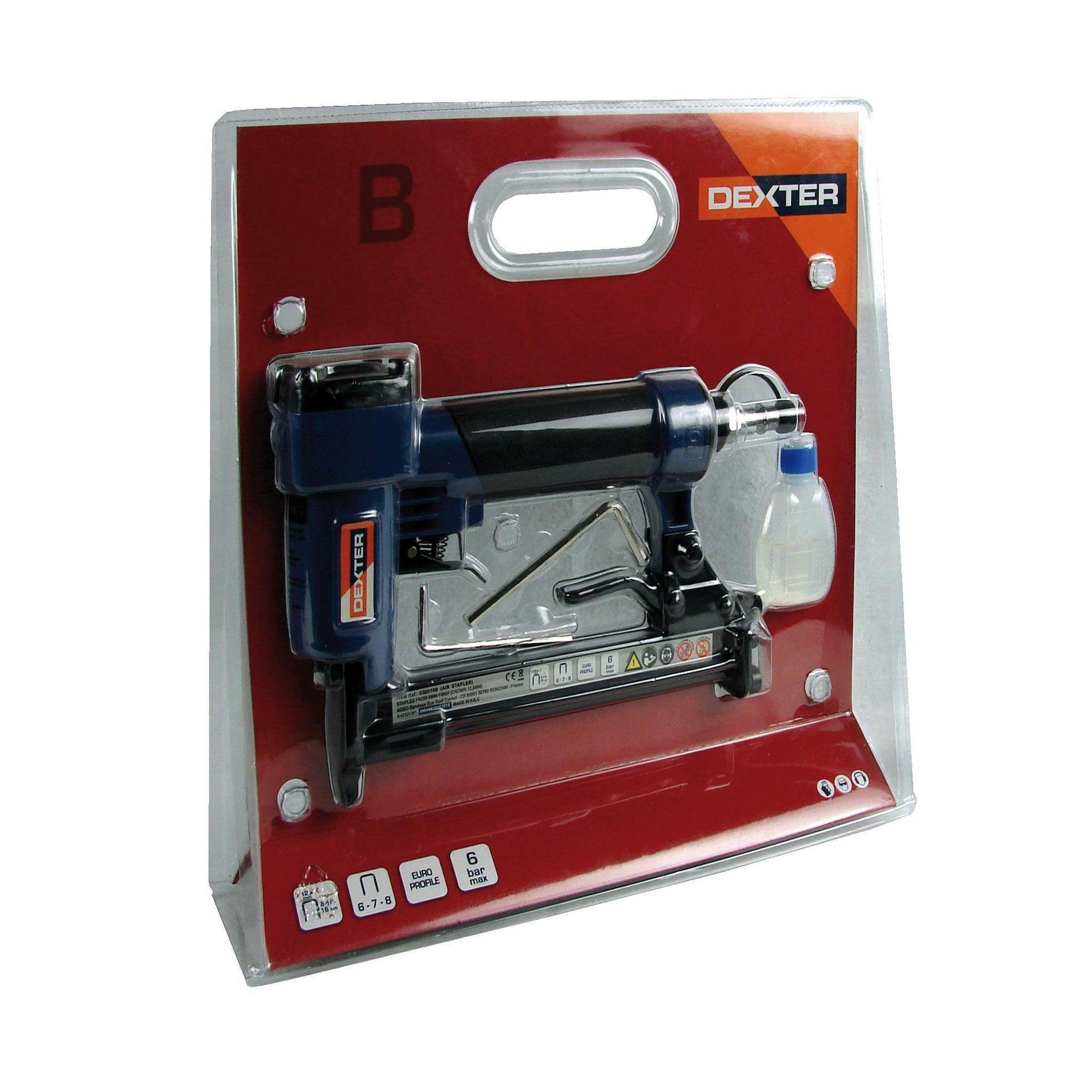 Graffatrice pneumatica DEXTER 6 bar - 11