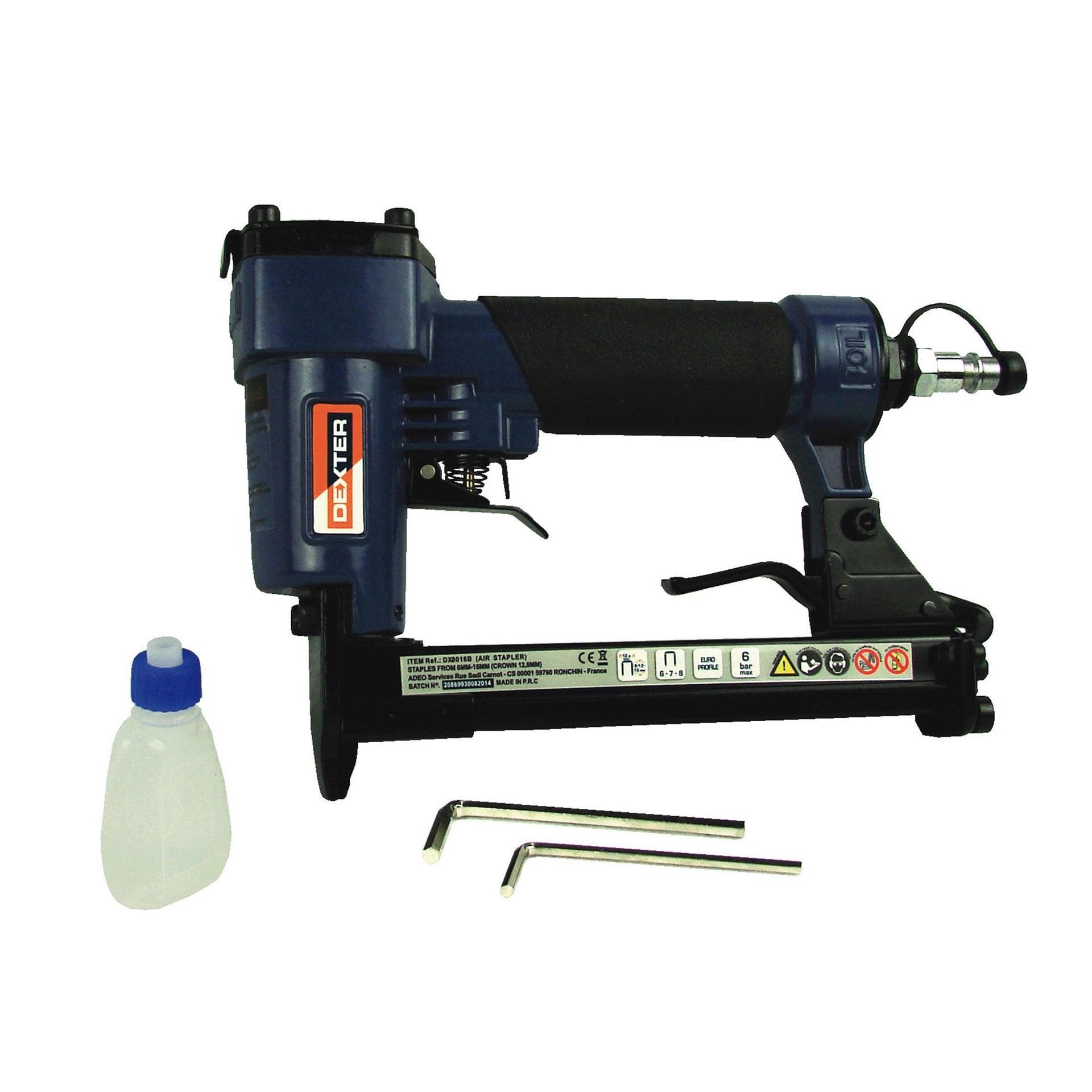 Graffatrice pneumatica DEXTER 6 bar - 7