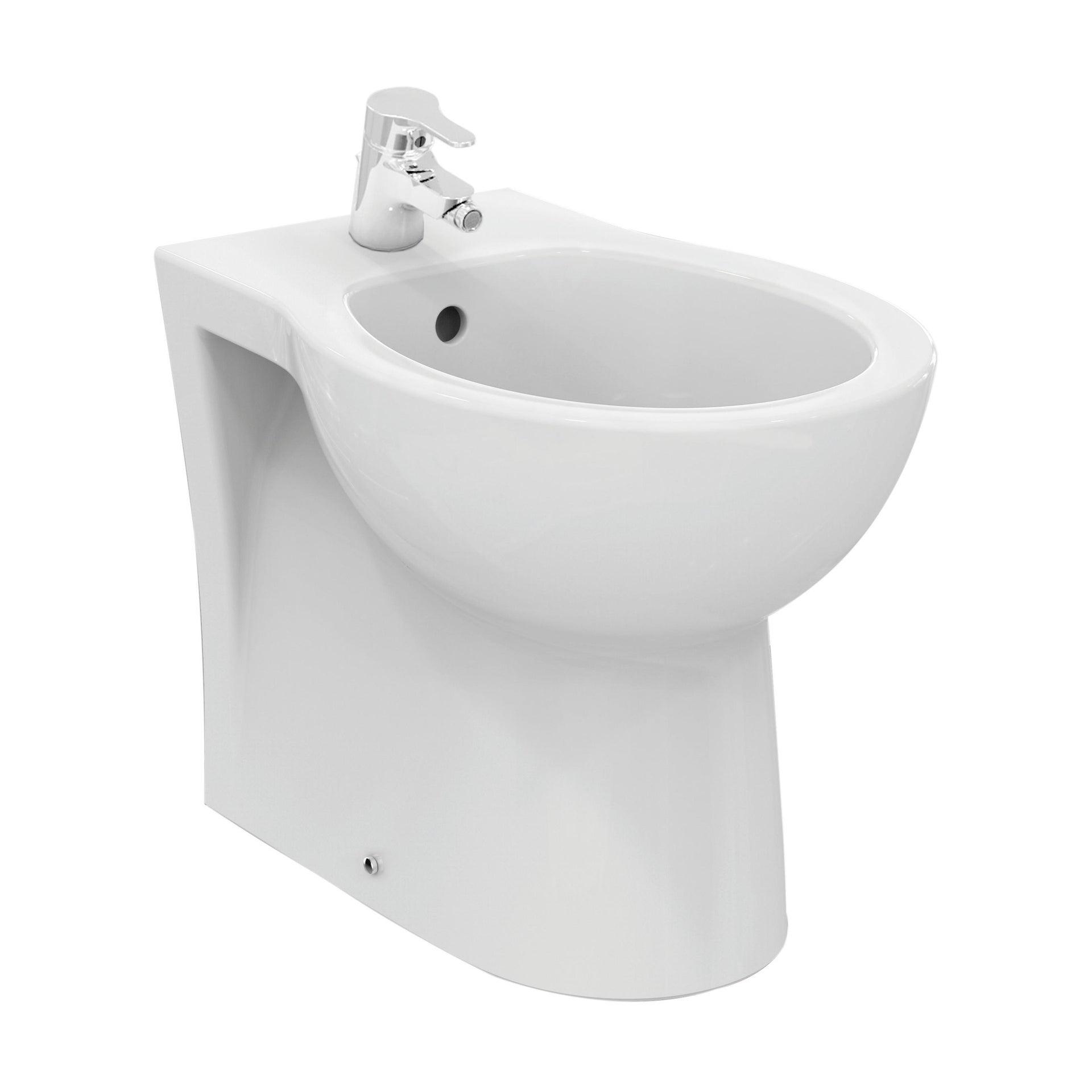 Coppia sanitari pavimento filo muro Miky New IDEAL STANDARD - 5