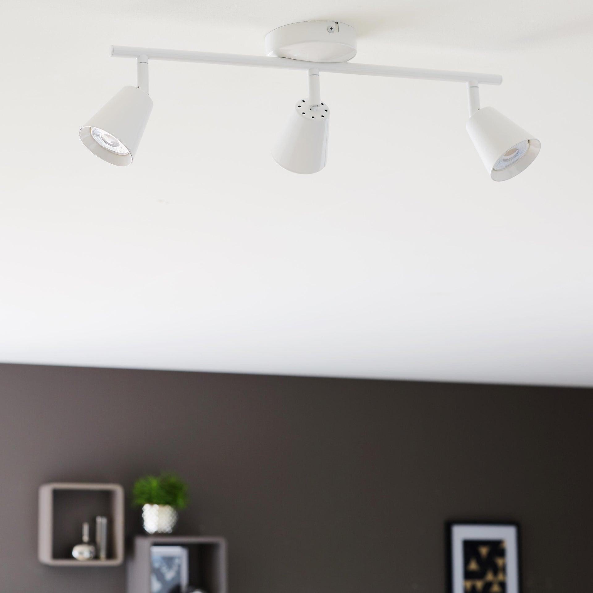 Barra di faretti Chapo bianco, in metallo, LED integrato 3.5W 840LM IP20 INSPIRE - 2