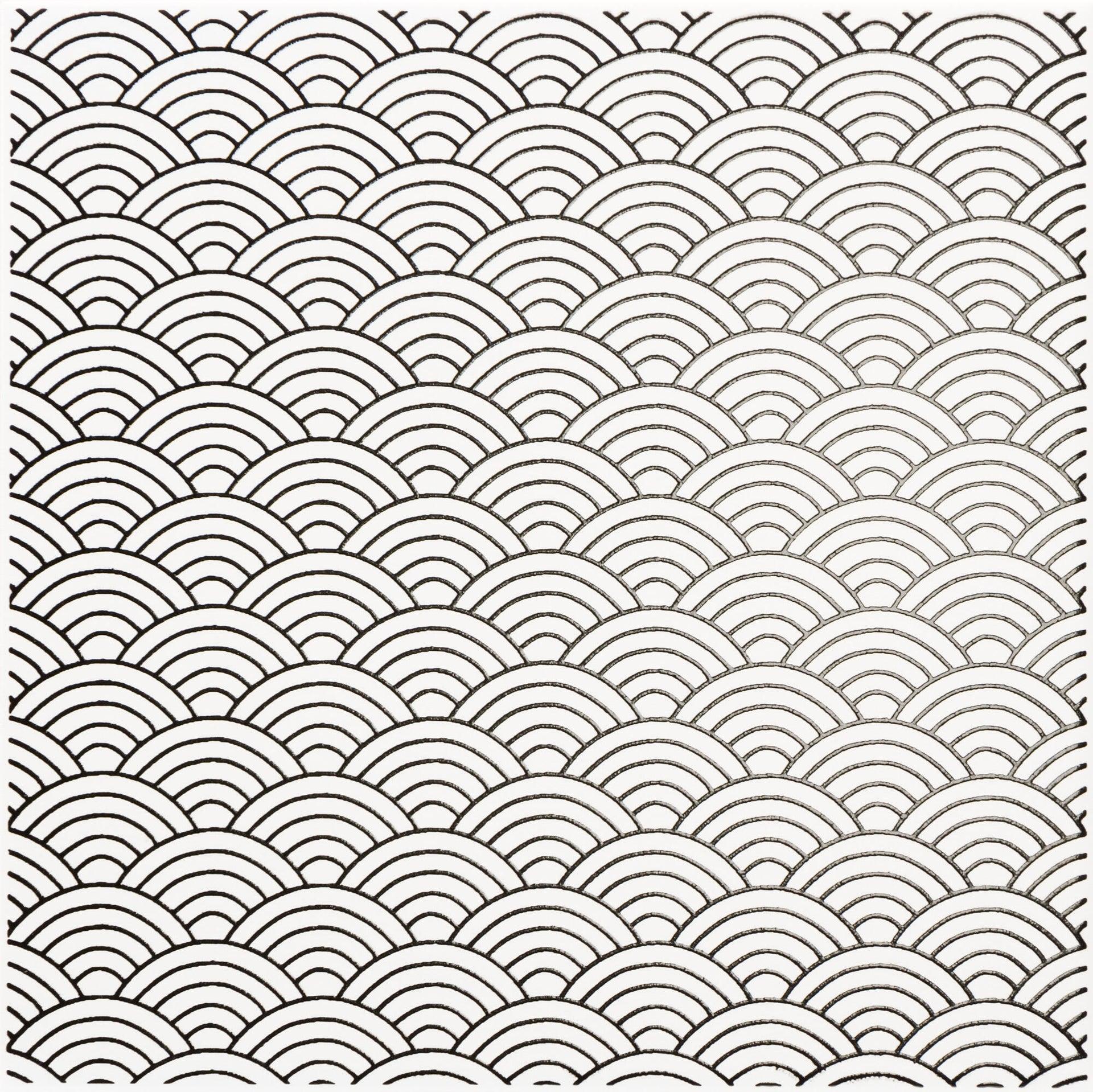 Piastrella decorativa Astuce 20 x 20 cm sp. 6.5 mm bianco - 4