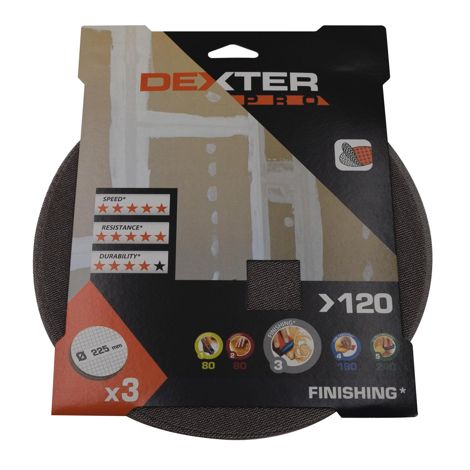 Disco abrasivo strappo DEXTER PRO grana 120 - 2