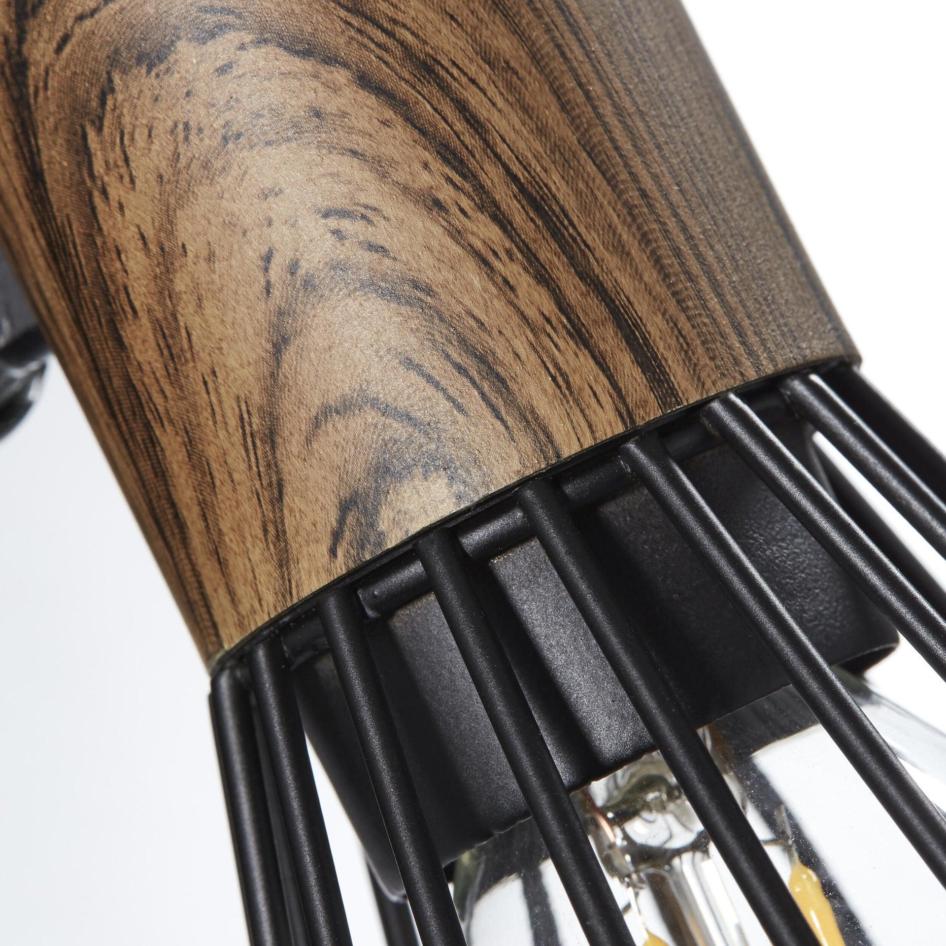 Faretto Manama nero in metallo E14 40W BRILLIANT - 4