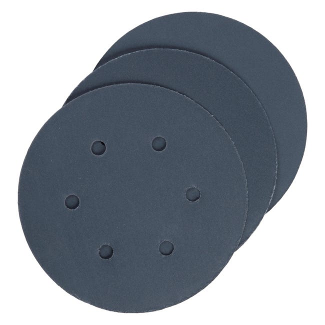 Disco abrasivo strappo multiforato DEXTER grana 280 - 1