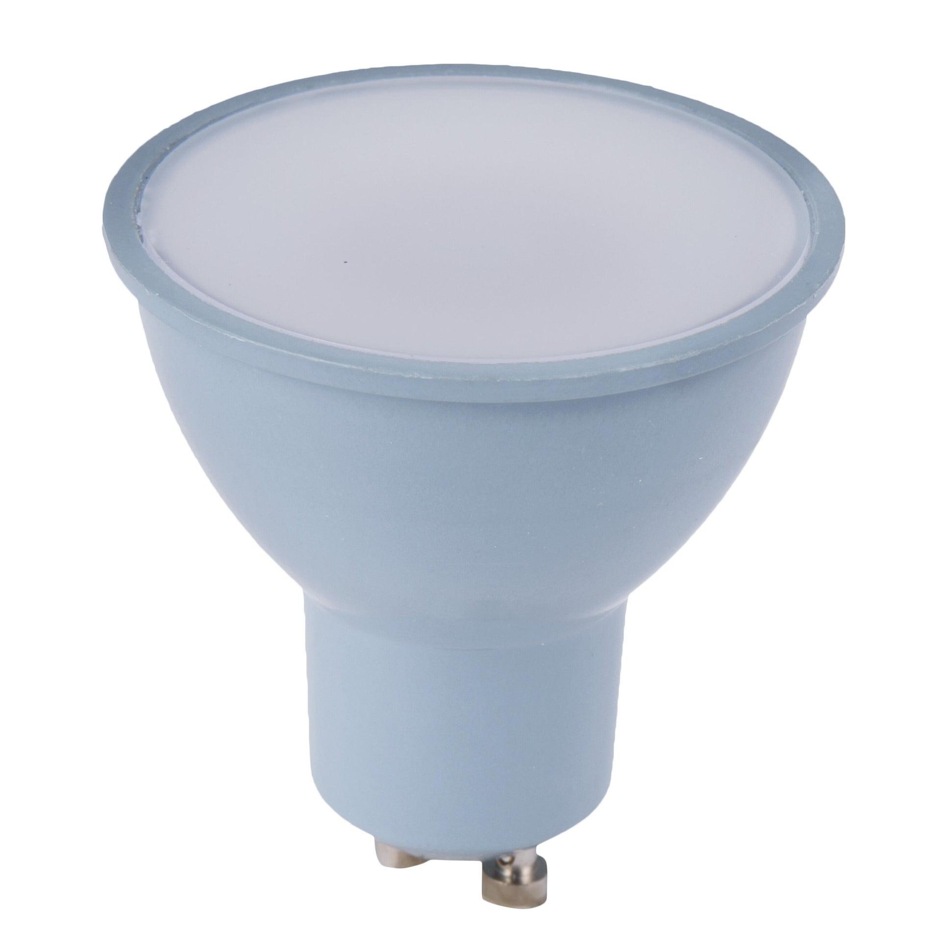 Lampadina LED, GU10, Faretto, Smerigliato, Luce calda, 6W=450LM (equiv 50 W), 100° , LEXMAN - 2