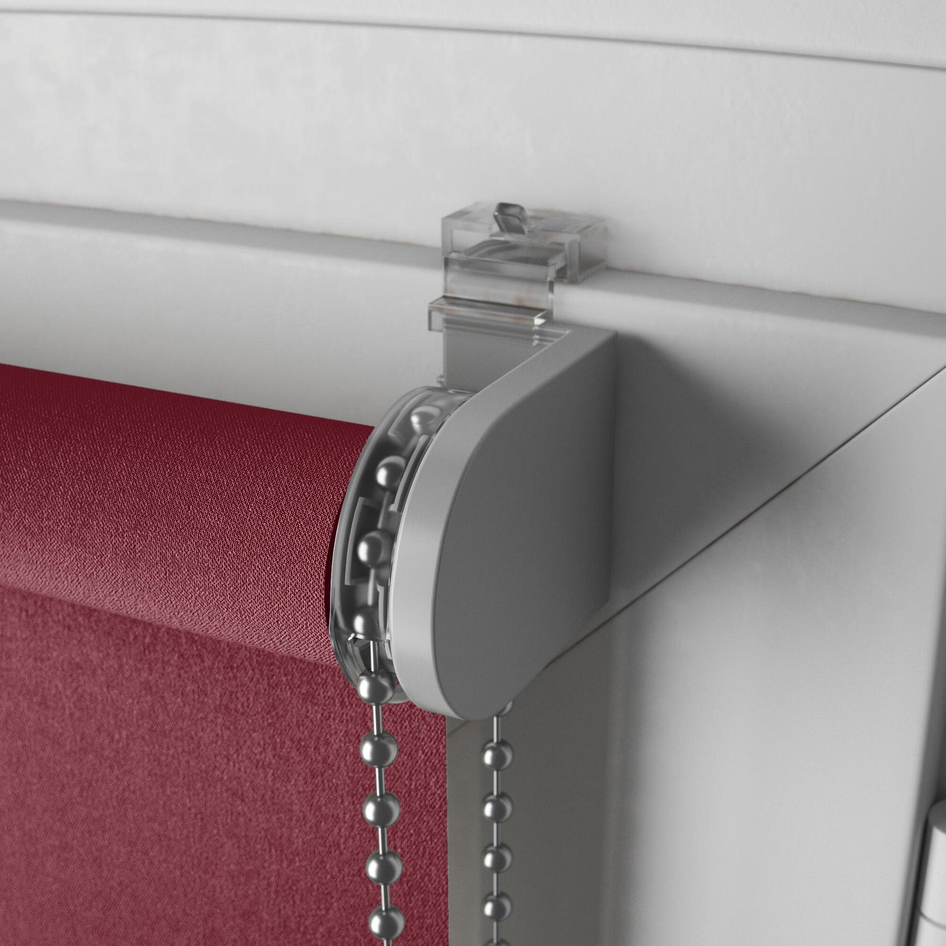 Tenda a rullo oscurante INSPIRE Tokyo rosso 140 x 160 cm - 6