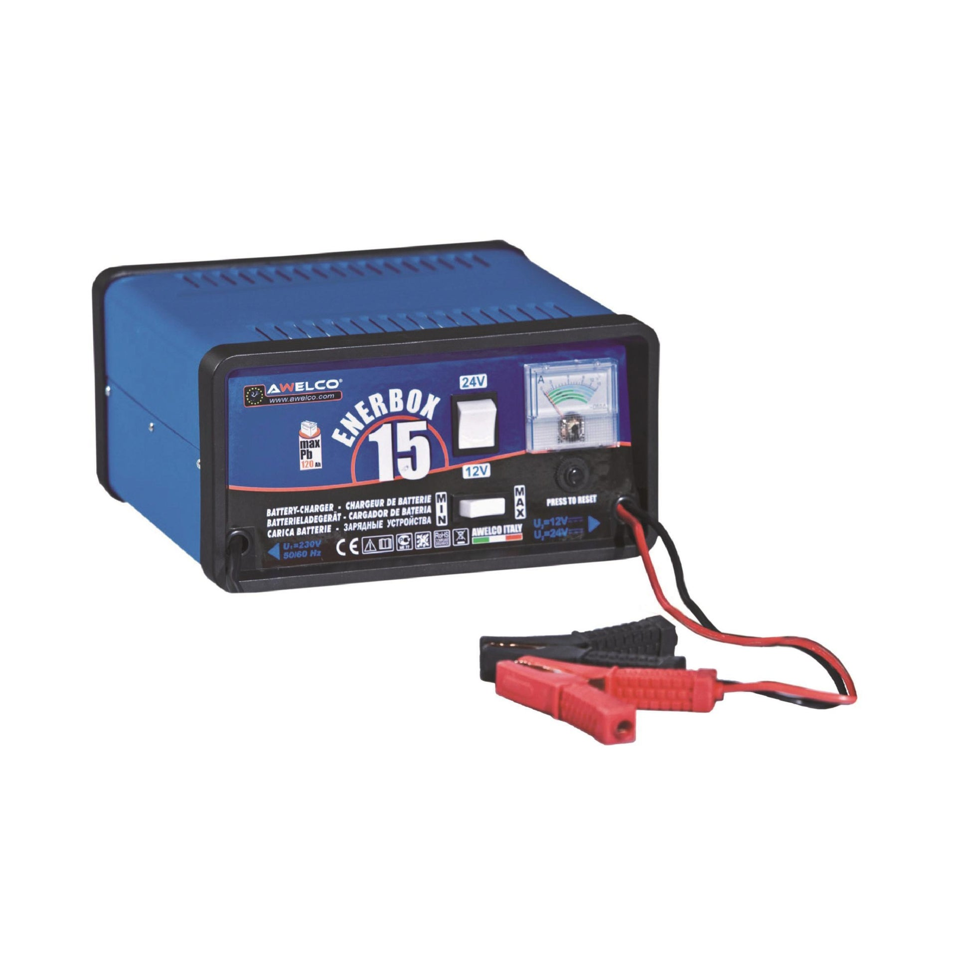 Caricabatterie AWELCO ENERBOX 15 12-24 V
