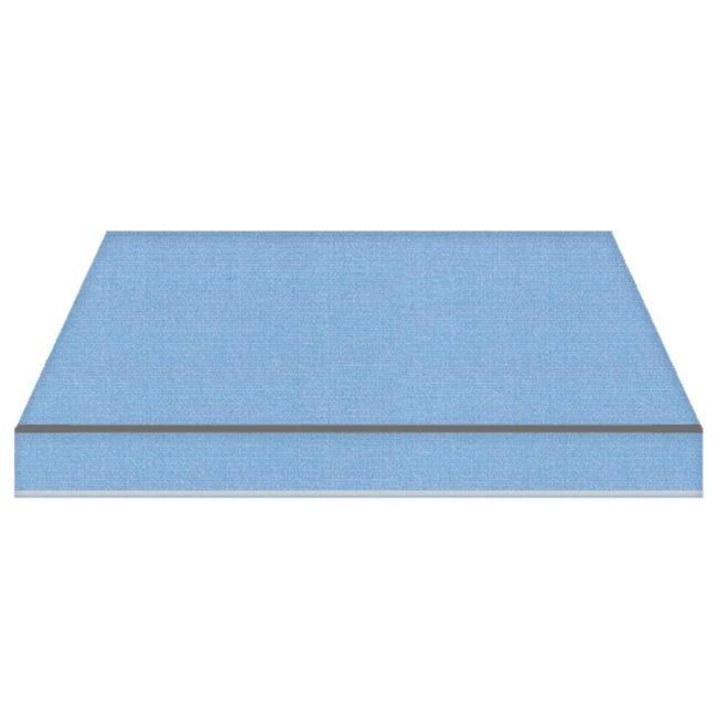 Tenda da sole a bracci estensibili TEMPOTEST PARA' L 3.5 x H 2 m Cod. 17/15 azzurro - 1