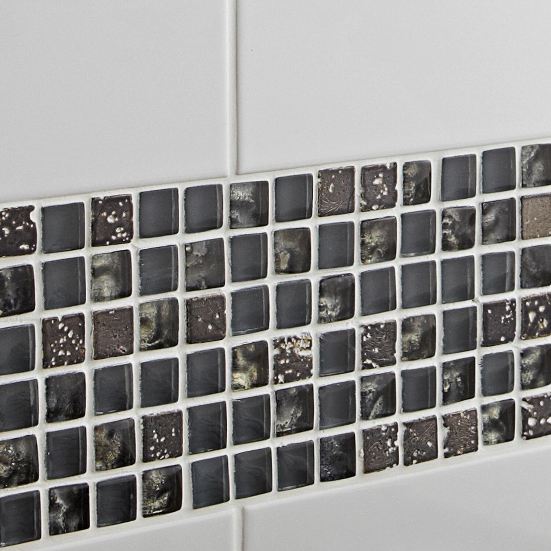 Piastrella Lucido 20 x 20 cm sp. 7 mm bianco - 7