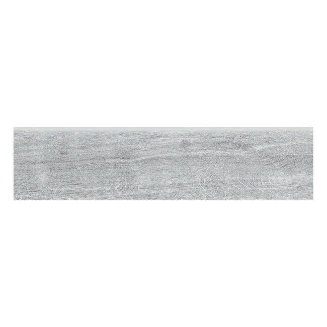 Battiscopa Otta H 8 x L 33.3 cm grigio - 1
