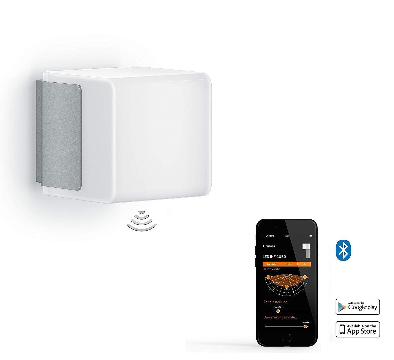 Applique L 835 LED integrato con sensore di movimento, grigio, 9.5W 586LM IP44 STEINEL - 6