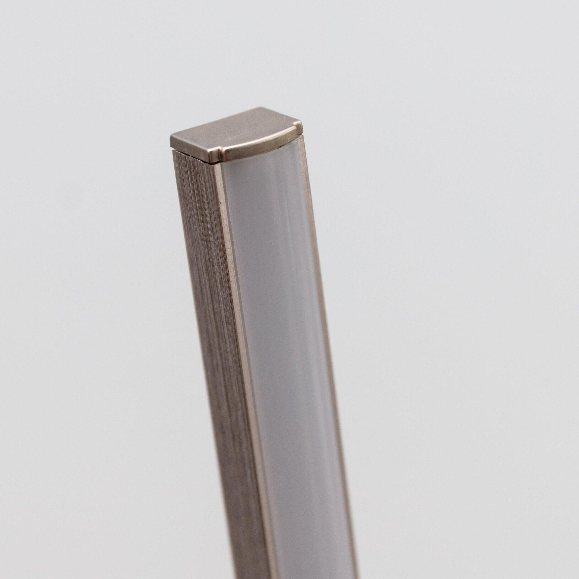 Lampada da terra Truxton cromato, in metallo, H146cm LED integrato INSPIRE - 6