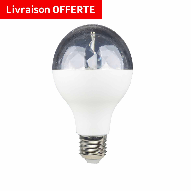 Lampadina LED, E27, Goccia, Trasparente, RGB, 5W=250LM (equiv 5 W), 360° , LEXMAN - 3