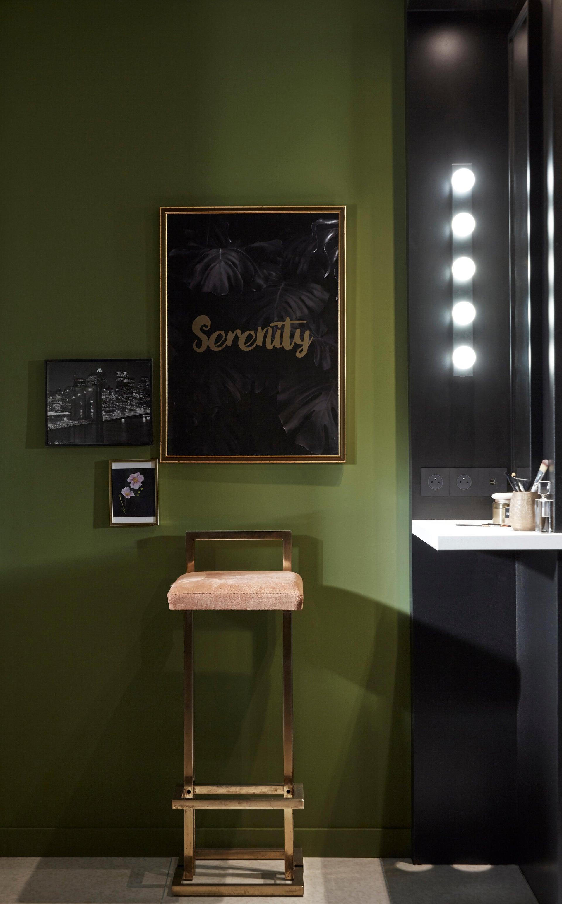 Applique moderno Smila LED integrato nero, in metallo, 60x60 cm, 5 luci INSPIRE - 6