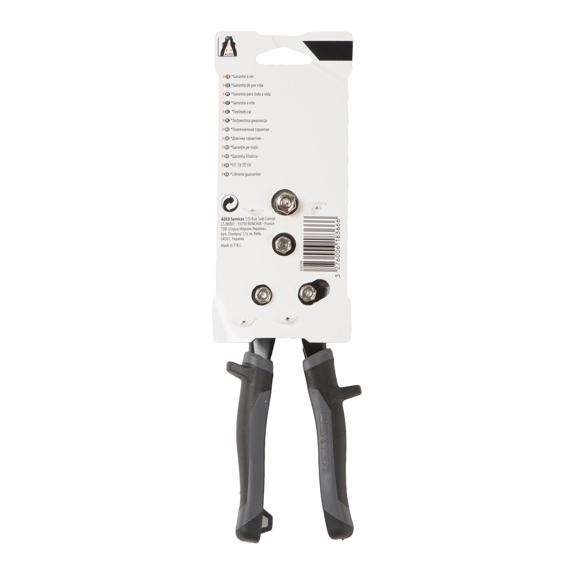 Cesoia per lamiera DEXTER PRO taglio a sinistra 250 mm - 5