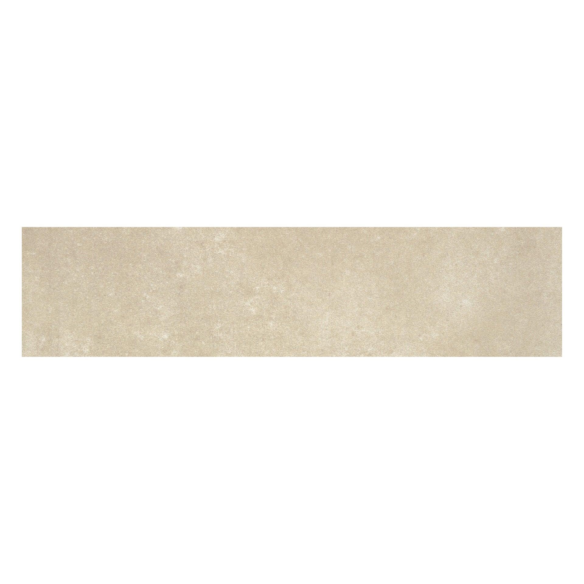 Battiscopa Cemento H 8 x L 33.3 cm beige