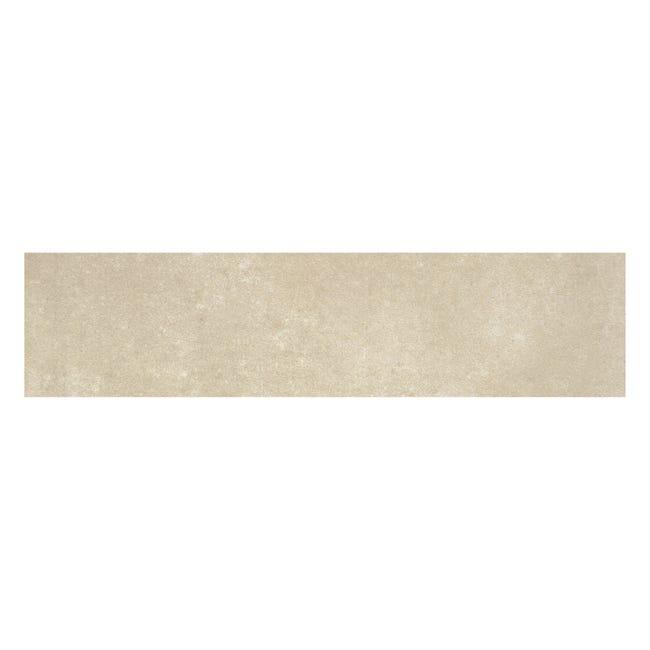 Battiscopa Cemento H 8 x L 33.3 cm beige - 1