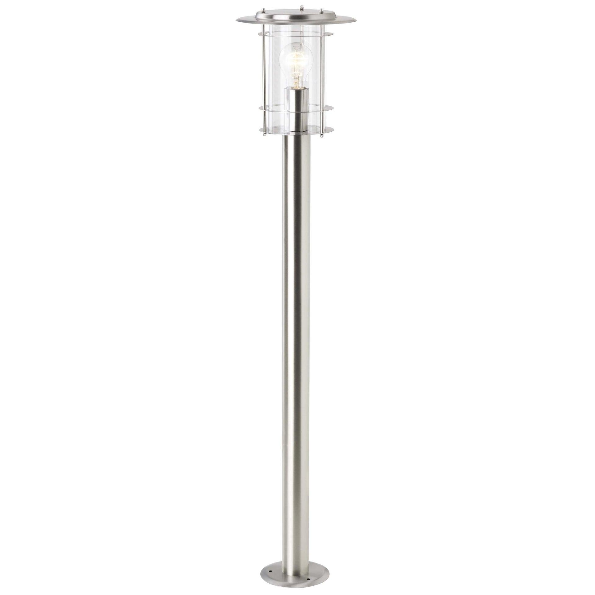 Lampione York H100 cm in alluminio, acciaio, E27 1x MAX 40W IP44 BRILLIANT - 2
