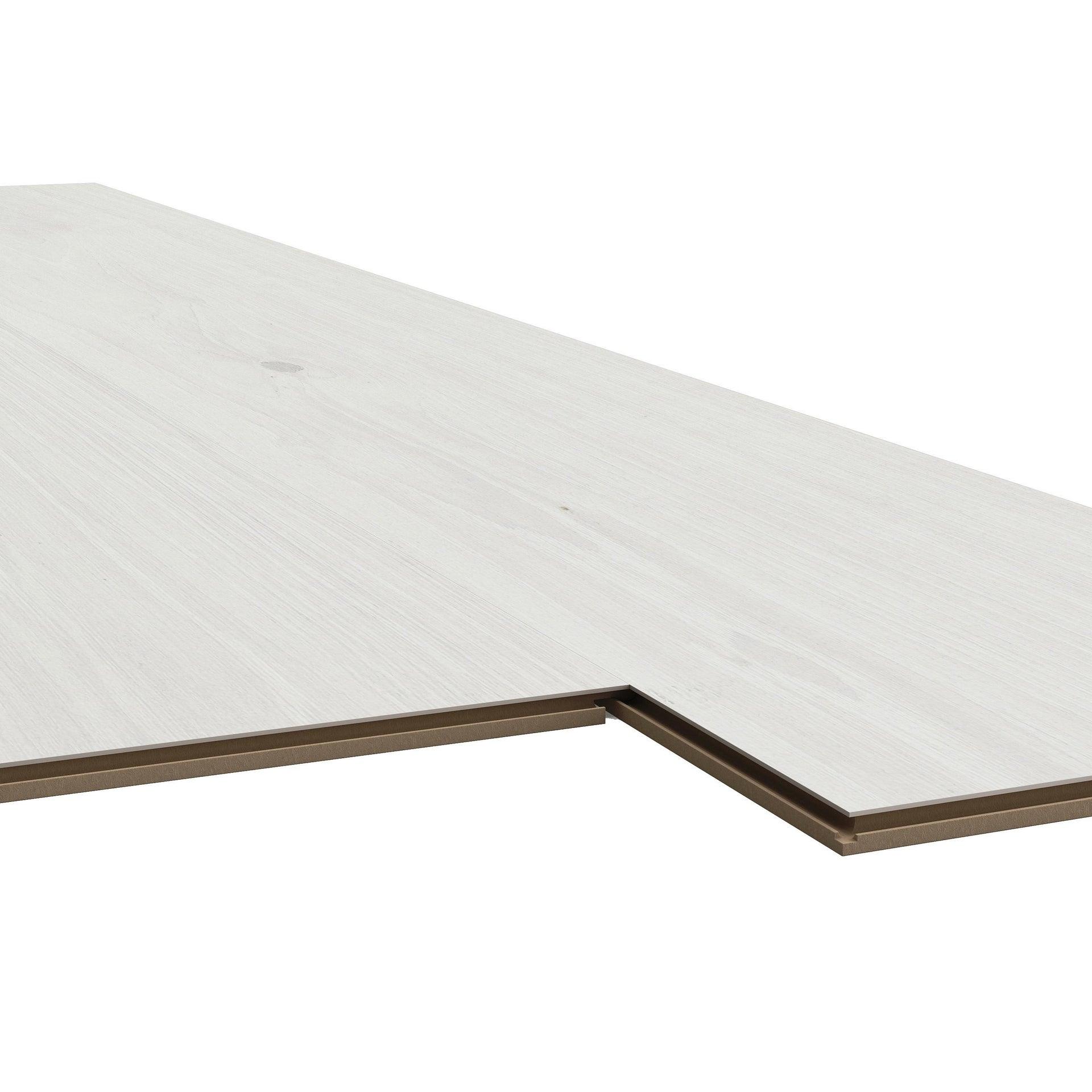 Pavimento laminato Vasa Sp 7 mm bianco - 2