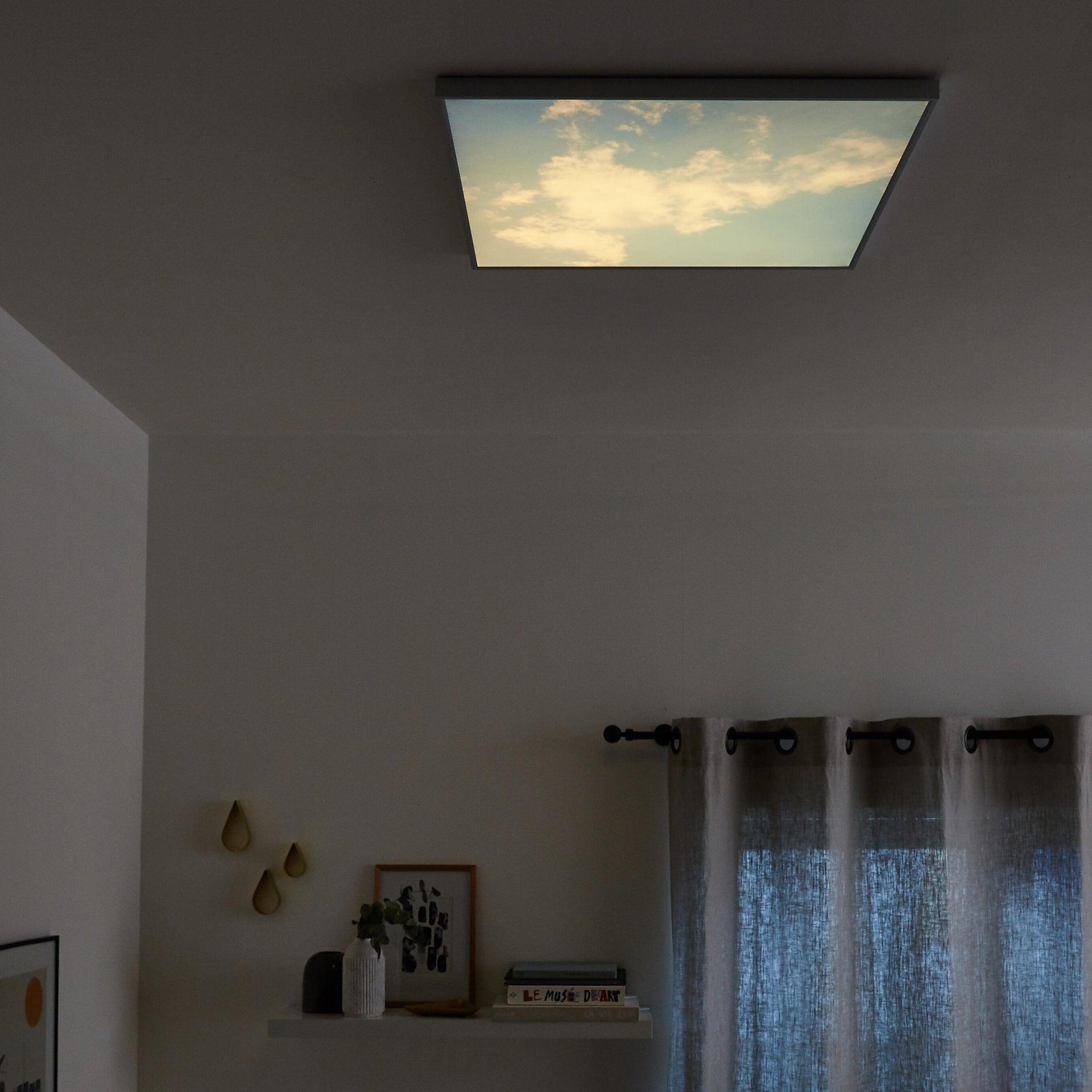 Pannello led Sky 60x60 cm cct regolazione da bianco caldo a bianco freddo, INSPIRE - 5