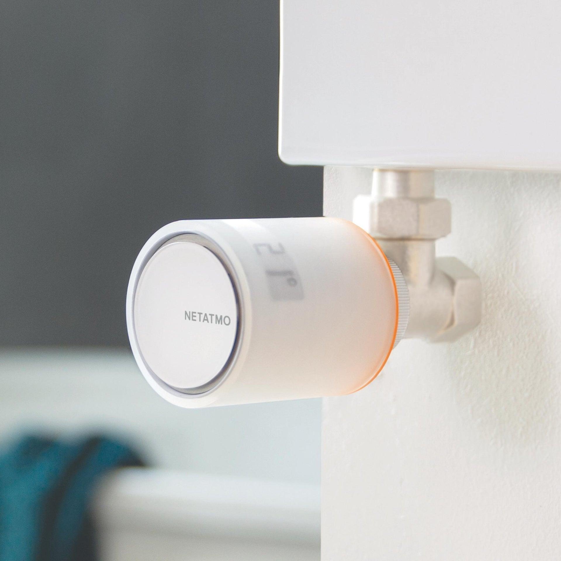 Testa termostatica NETATMO singola Ø 1.1/4