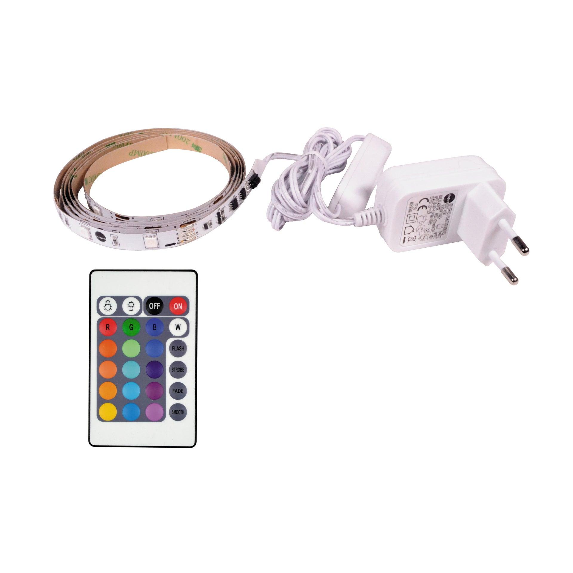 Striscia led 1.5m luce rgb 160LM IP20 - 1
