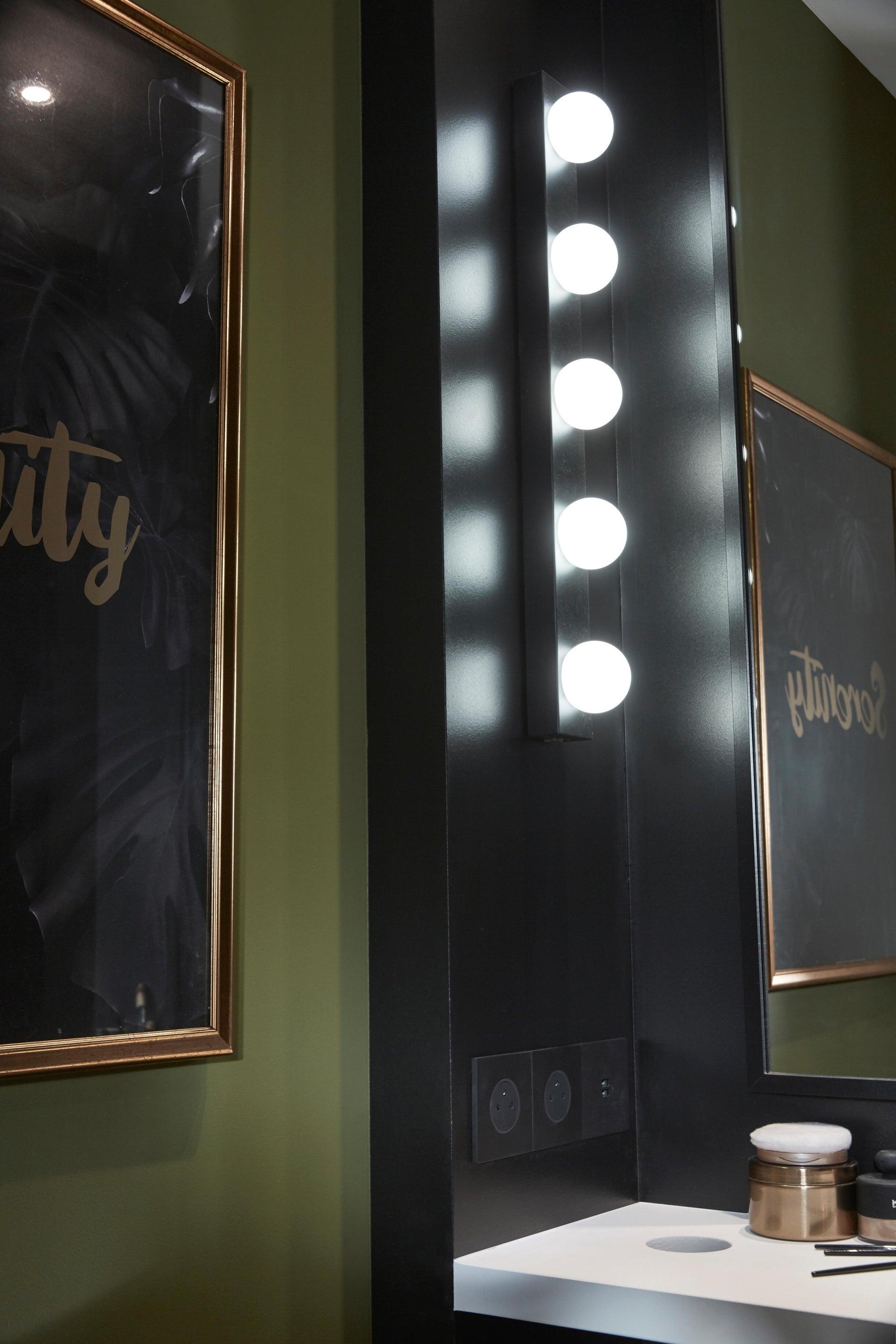 Applique moderno Smila LED integrato nero, in metallo, 60x60 cm, 5 luci INSPIRE - 4
