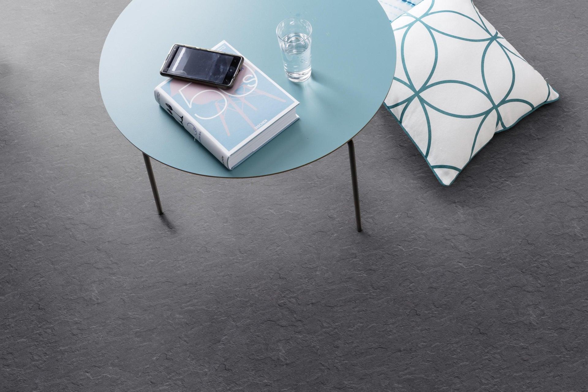 Pavimento PVC adesivo Slate Sp 1.5 mm nero - 4